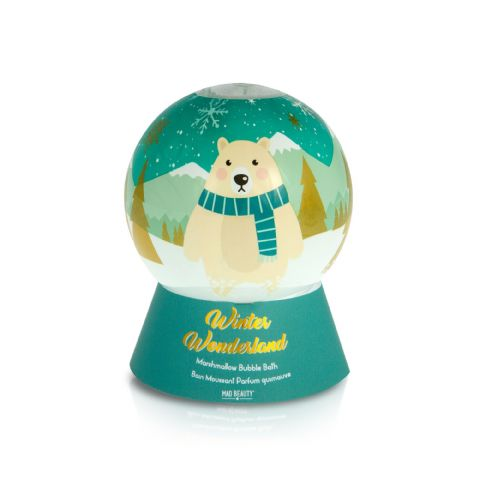 Snowglobe Winter Wonderland Bubble Bath 250ml Mad Beauty